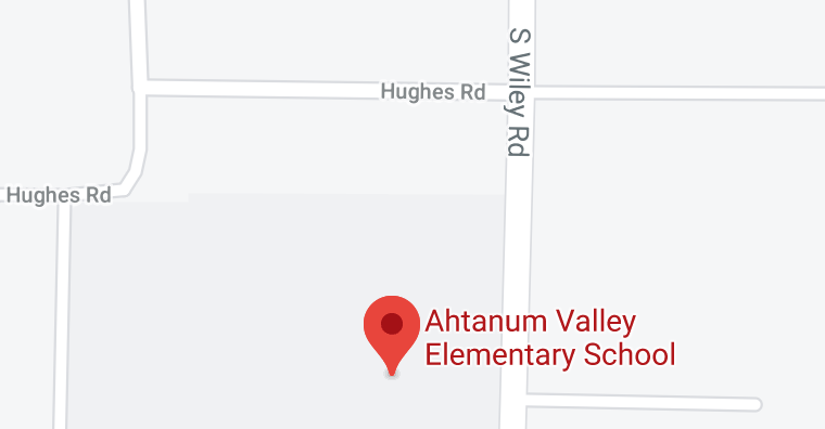 Ahtanum map